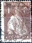Stamps : Europe : Portugal :  Intercambio 0,20 usd 1 cent. 1918