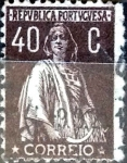 Stamps Portugal -  Intercambio 0,45 usd 40 cent. 1924