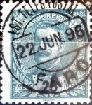 Stamps : Europe : Portugal :  Intercambio 0,25 usd 25 r. 1895