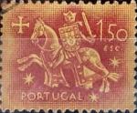 Stamps Portugal -  Intercambio 0,20 usd 1,50 e. 1953
