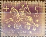 Stamps : Europe : Portugal :  Intercambio 0,20 usd 5 e. 1953