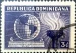 Sellos de America - Rep Dominicana -  Intercambio 0,20 usd 3 cent. 1938