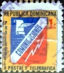Sellos de America - Rep Dominicana -  Intercambio 0,20 usd 1 cent. 1974