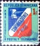 Sellos de America - Rep Dominicana -  Intercambio 0,25 usd 1 cent. 1981