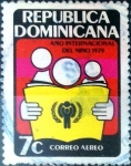 Stamps : America : Dominican_Republic :  Intercambio 0,20 usd 7 cent. 1979