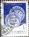 Stamps : Europe : Romania :  Intercambio 0,20 usd 1 l. 1982
