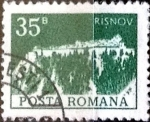 Stamps : Europe : Romania :  Intercambio 0,20 usd 35 b. 1973