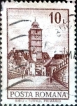 Stamps : Europe : Romania :  Intercambio 0,20 usd 10 l. 1972