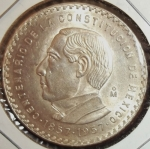 monedas de America - México -  1957 (Anverso)