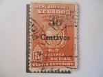 Stamps Ecuador -  Tímbre Patriótico-Defensa Nacional.