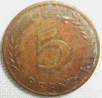 monedas de Europa - Alemania -  1950 (Reverso)