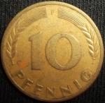 monedas del Mundo : Europa : Alemania :  1950 (Reverso)