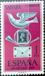 Stamps : Europe : Spain :  Intercambio cxrf 0,25 usd 1 p. 1968
