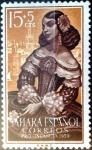 Stamps : Europe : Spain :  Intercambio 0,25 usd 15 + 5 cent. 1959