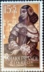 Sellos del Mundo : Europa : España : Intercambio 0,25 usd 15 + 5 cent. 1959