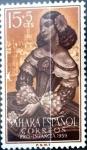 Sellos de Europa - España -  Intercambio jxi 0,25 usd 15 + 5 cent. 1959