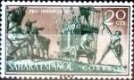 Sellos del Mundo : Europa : España :  Intercambio cxrf 0,20 usd 20 cent. 1958