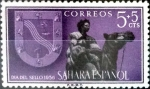 Sellos del Mundo : Europa : España :  Intercambio cxrf 0,20 usd 5 + 5 cent. 1956