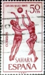 Stamps Spain -  Intercambio jxi 0,20 usd 50 cent. 1965