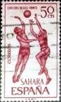 Sellos de Europa - España -  Intercambio jxi 0,20 usd 50 cent. 1965