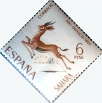Stamps : Europe : Spain :  Intercambio cxrf 0,50 usd 6 p. 1969