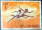 Stamps : Europe : San_Marino :  Intercambio jxa 0,20 usd 1 l. 1963