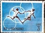 Stamps : Europe : San_Marino :  Intercambio cxrf 0,20 usd 3 l. 1963