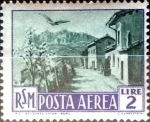 Stamps : Europe : San_Marino :  Intercambio jxa 0,35 usd 2 l. 1950