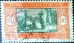 Stamps : Africa : Senegal :  Intercambio 0,20 usd 50 cent. 1926