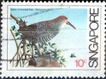 Stamps : Asia : Singapore :  Intercambio 0,25 usd 10 cent. 1984
