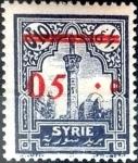 Stamps : Asia : Syria :  Intercambio 1,00 usd 5 sobre 10 cent. 1928