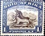 Sellos del Mundo : Africa : Sudáfrica : 1 sh. 1950