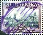 Sellos del Mundo : Africa : Sudáfrica : Intercambio 7,25 usd 2 p. 1938