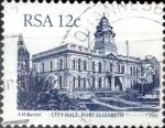 Stamps South Africa -  Intercambio 0,20 usd 12 cent. 1985