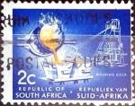 Sellos de Africa - Sudáfrica -  Intercambio 0,20 usd 2 cent. 1968