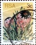 Sellos del Mundo : Africa : Sudáfrica : Intercambio 0,20 usd 3 cent. 1977