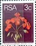 Sellos del Mundo : Africa : Sudáfrica : Intercambio 0,20 usd 3 cent. 1974