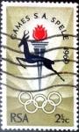 Sellos de Africa - Sudáfrica -  Intercambio 0,20 usd 2,5 cent. 1969