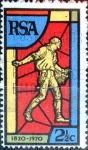 Stamps : Africa : South_Africa :  Intercambio 0,20 usd 2,5 cent. 1970