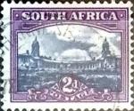 Sellos del Mundo : Africa : Sudáfrica : 2 p. 1950