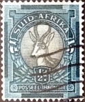 Stamps South Africa -  Intercambio 0,20 usd 1/2 p. 1936