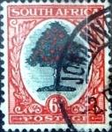 Sellos del Mundo : Africa : Sudáfrica : 6 p. 1950