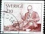 Stamps : Europe : Sweden :  Intercambio 0,20 usd 2,10 k. 1977