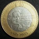 monedas de America - México -  2000 (Anverso)