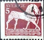 Stamps of the world : Sweden :  Intercambio 0,20 usd 5 o. 1973