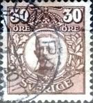 Sellos de Europa - Suecia -  Intercambio 0,20 usd 30 o. 1911