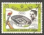 Stamps : Asia : Jordan :   24 - Hussein, Inauguración de las ciudades deportivas