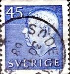 Sellos del Mundo : Europa : Suecia : Intercambio 0,20 usd 45 o. 1967