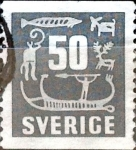 Stamps of the world : Sweden :  Intercambio 0,20 usd 50 o. 1954