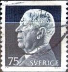 Sellos de Europa - Suecia -  Intercambio 0,20 usd 75 o. 1972
